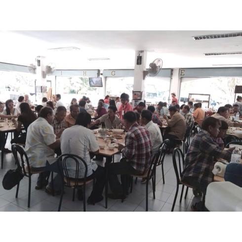 8.7.58 cream3330 ขอขอบคุณ คณะจาก #การปกครองอำเภอบ่อทอง จ.ชลบุรี ที่ไว้วางใจ #JMcuisine ในการ #จัดเลี้ยง #อาหารเซ็ท #อาหารแนะนำเพชรบุรี ทั้ง 120 ท่านครับ