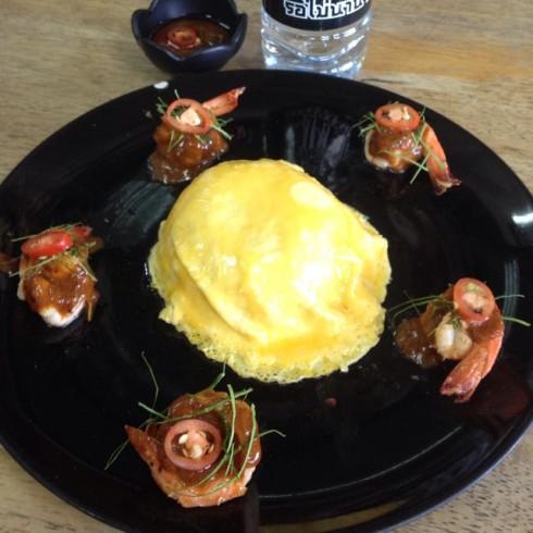 9.9.58 jan_kik สวยงาม น่ากิน #ข้าวไข่ข้นซอสต้มยำ #รสชาติผ่านนนน!!! #มื้อเที่ยงที่เมืองเพชร