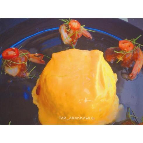 22.02.59 11.30 ข้าวไข่ข้นซอสต้มยำกุ้งน้ำข้น @Tar Anakkawee.jpg
