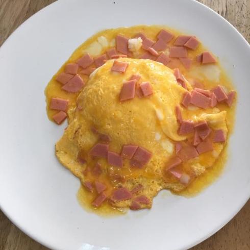 ข้าวไข่ข้นแฮม @JMcuisine  ขอขอบคุณภาพจสกคุณPuy Rotchana.jpg