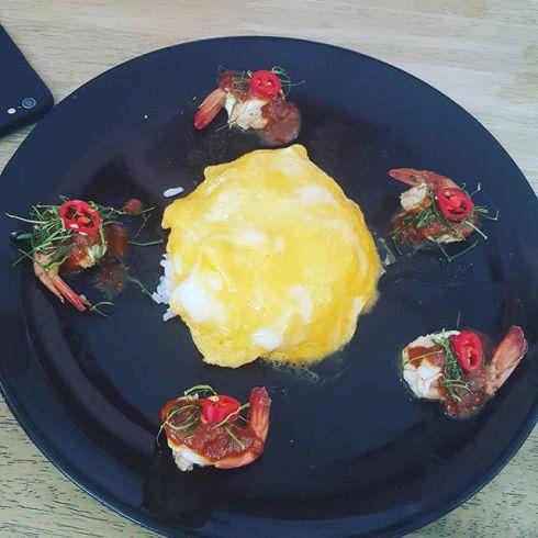 ruiri #ข้าวไข่ข้นซอสต้มยำกุ้งน้ำข้น #อาหารกลางวันวันนี้ #lunch #petchaburi #JMCuisine.jpg