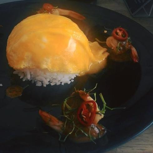 ข้าวไข่ข้นซอสต้มยำกุ้งน้ำข้น.อร่อยยเว่อวังที่ Jm Cuisine - เจ๊กเม้ง หน้าไม่งอรอไม่นานhttpsgoo.gl9TP9Si.jpg