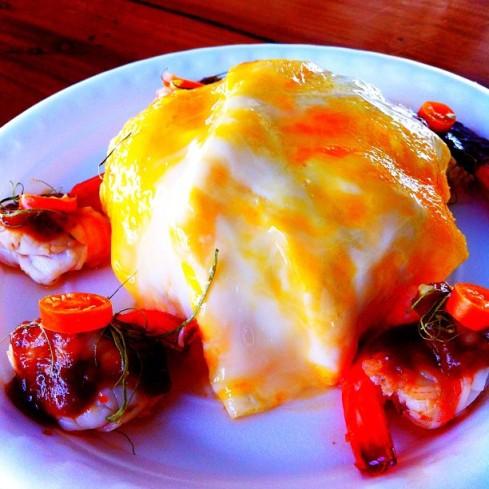 ข้าวไข่ข้นซอสต้มยำกุ้งน้ำข้น  #JMcuisine #หน้าไม่งอรอไม่นาน #จัดเลี้ยงนอกสถานที่