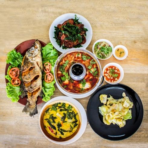 เมนูสำหรับมาเป็นหมู่คณะ จัดเลี้ยงอาหารเซ็ท #JMcuisine #หน้าไม่งอรอไม่นาน