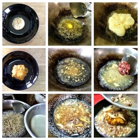iczz เมนู ข่เจียวราดหน้าญี่ปุ่น กับข้าวผัดกระเทียมต้นเมนูนี้ได้แรงบันดาลใจจาก #AdayBulletin #Life.jpg
